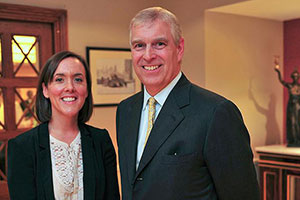 Interviewing Prince Andrew, July 2014